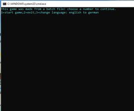 Batch File Quizz