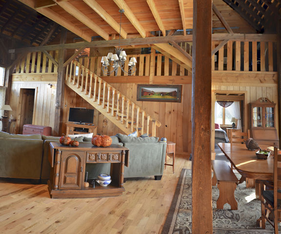 Barn to House Conversion by Phil Sacchitella
