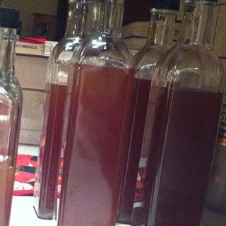 Homemade Pomegranate Liqueur