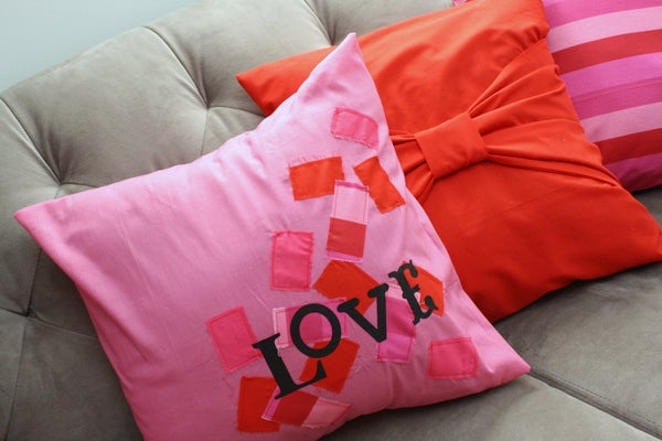 Scrappy Love Pillow Tutorial