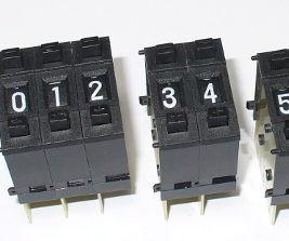 Arduino and Thumbwheel Switches