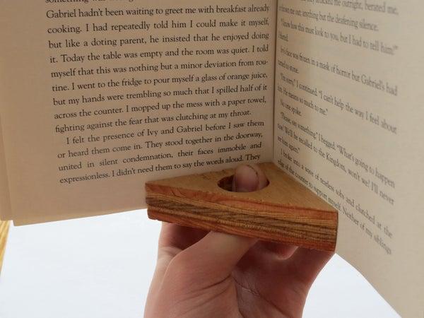 Wooden Book Helper