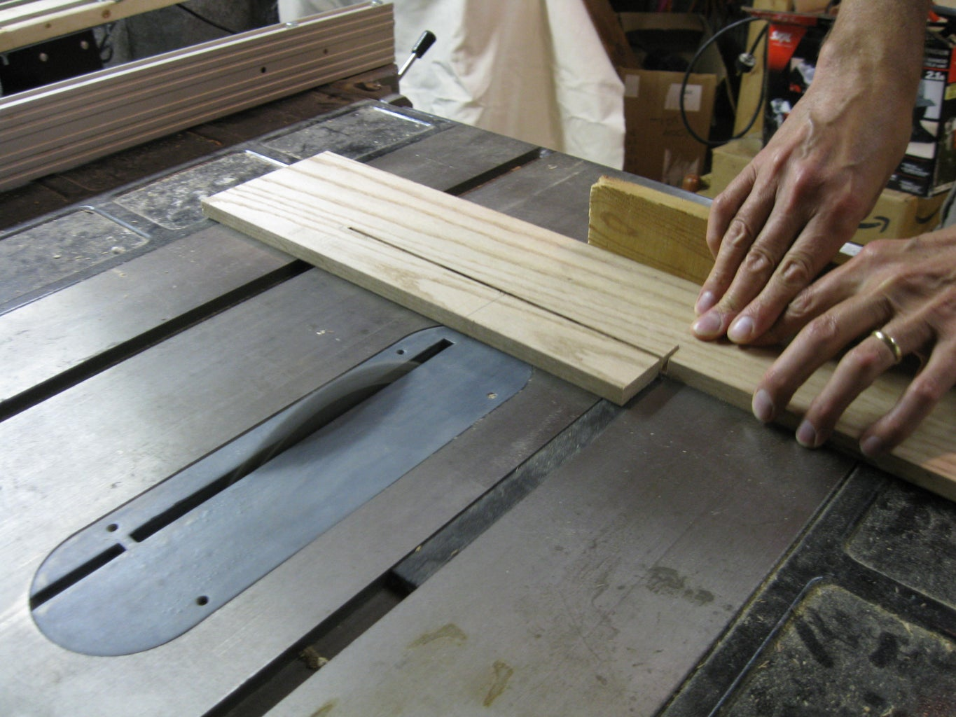 Making the Handle: Rough Cutting and Gluing