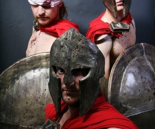 Costumes: Spartans From 300 and Max From Where the Wild Things Are
