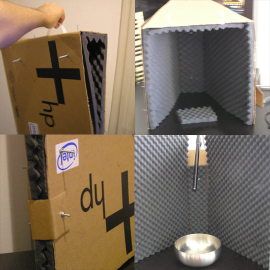 Portable Mini Vocal Booth