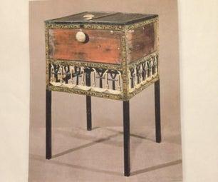 Build King Tut's Linen Cabinet