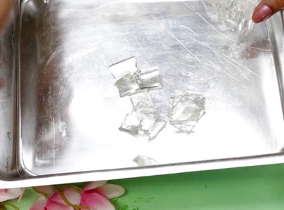 Prepare Ice Cubes  ( Candle # 2)