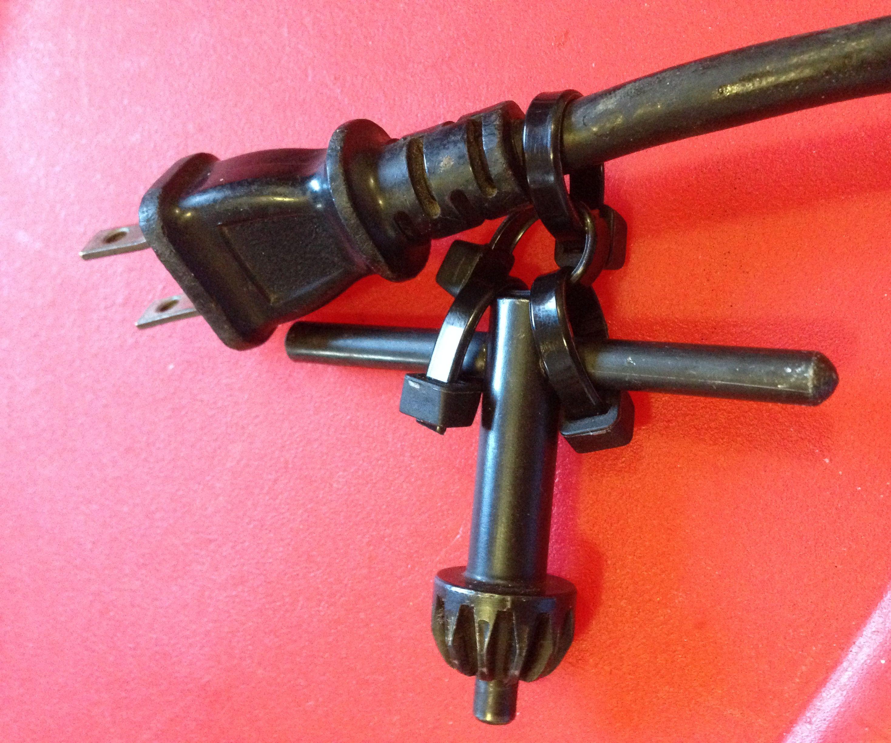 Zip Tie Chuck Key Holder