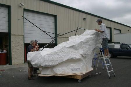 CNC Rock and Finish