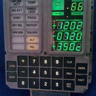 Open Apollo Guidance Computer DSKY