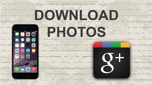 How to Download Photos From Google Plus on Mobile App