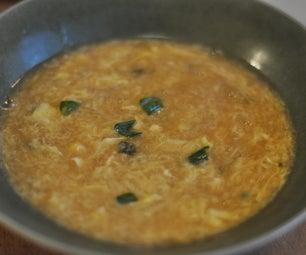 Vegetarian Egg Drop Soup