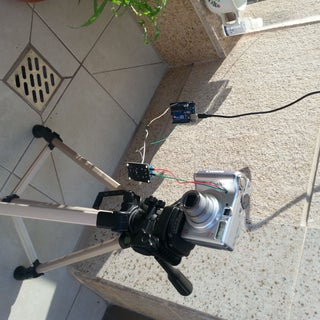 Arduino Module for Time-lapse Photography