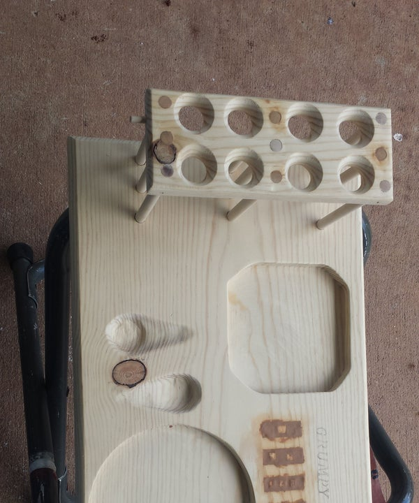 Tobacco Pipe Stand