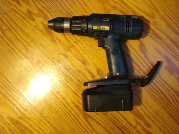 Drill Resurrection With New Batteries for Cheap