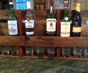 Liquor Rack