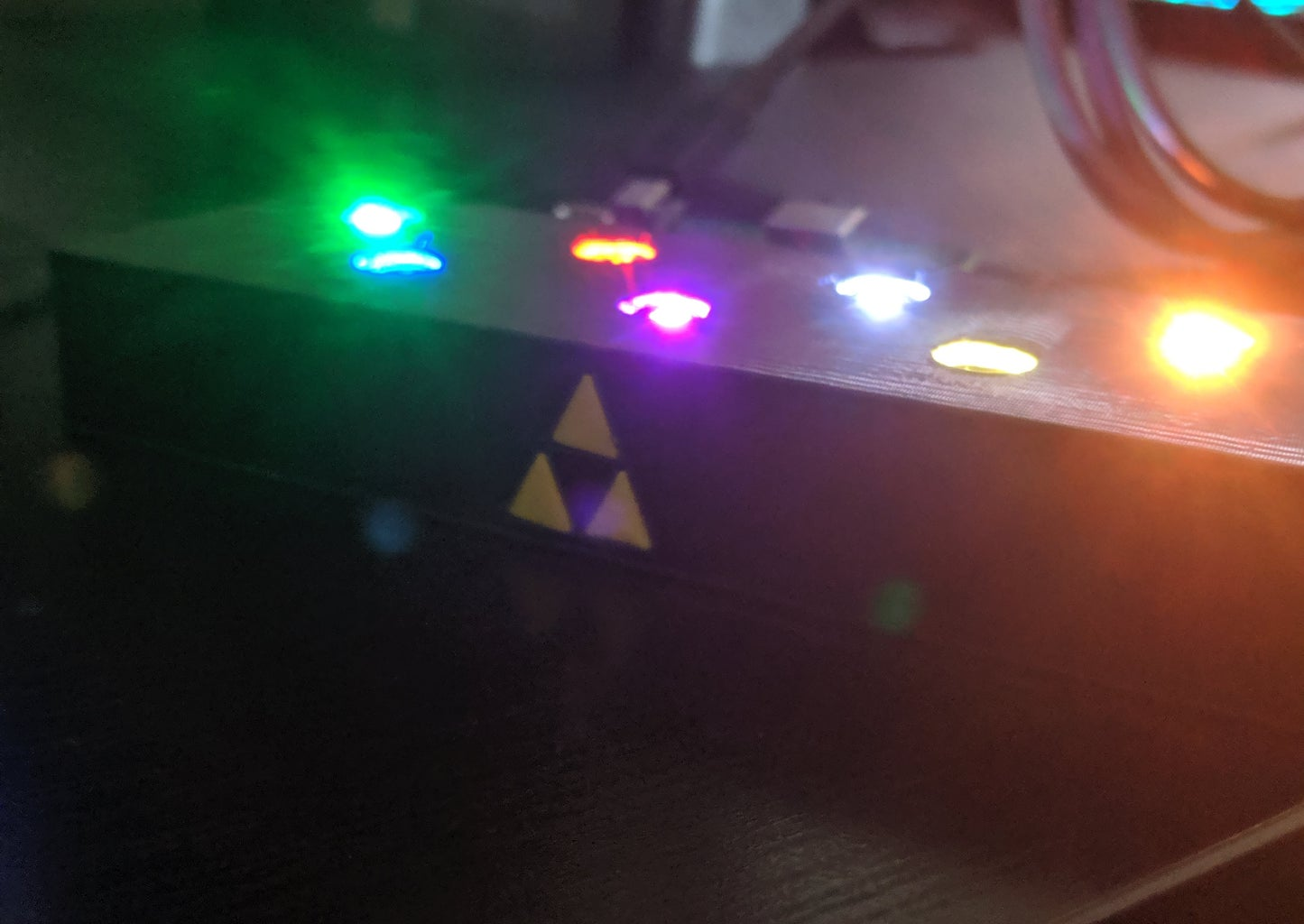 Attach the LEDs to the Base