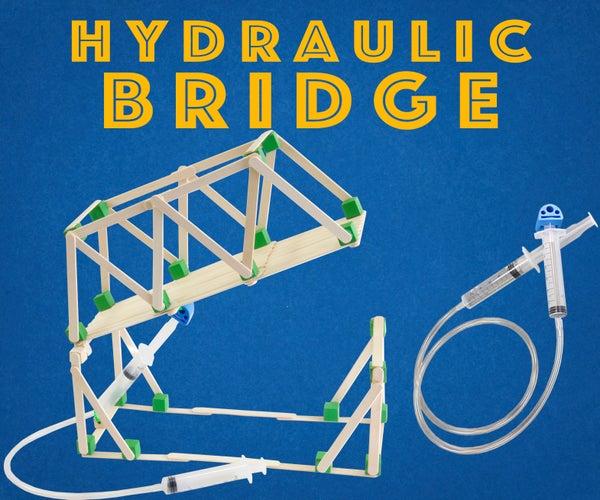 Hydraulic Bridge - Engineering Project for Kids