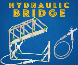 Hydraulic Bridge - Engineering Project for Kids