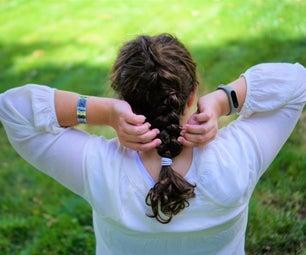 Dutch Braiding Your Own Hair