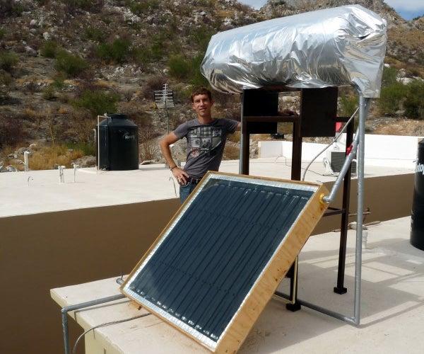 Solar Water Heater From Scratch