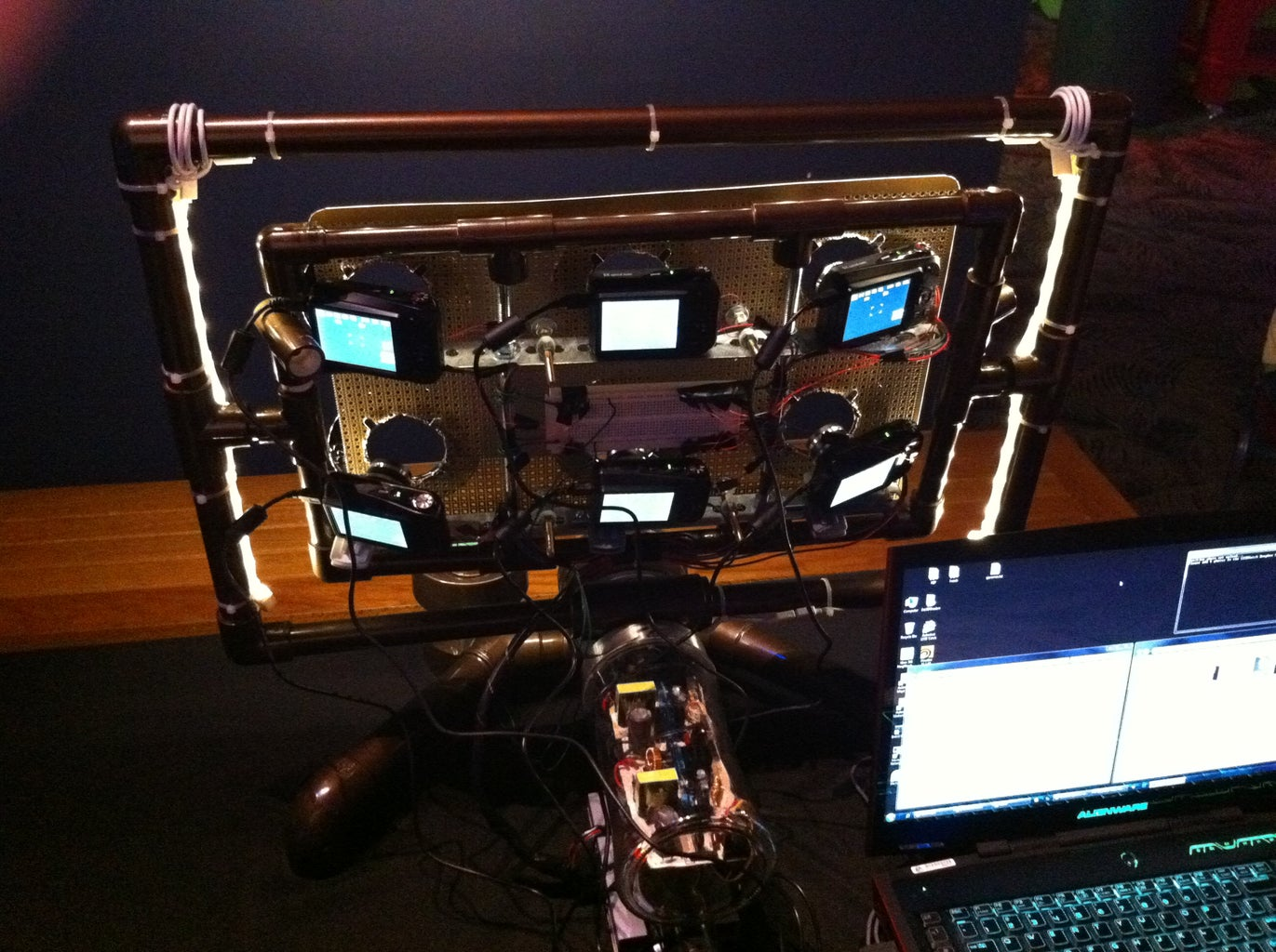 Six Camera Face Scan Rig (using 123DCatch / Photofly for Processing)