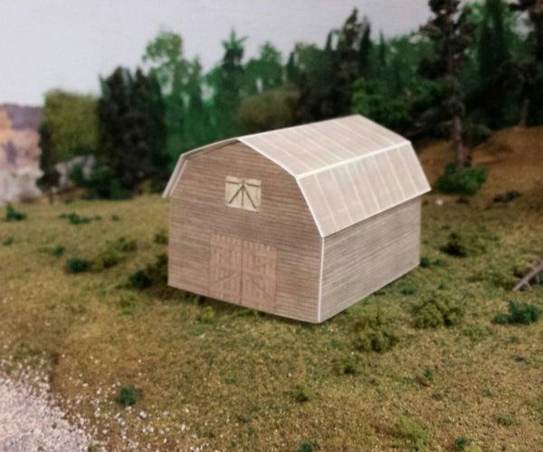 Cut Out Paper Buildings With the Silhuoette Portrait