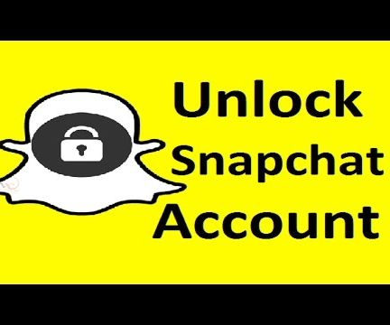 Unlock Snapchat Account!!