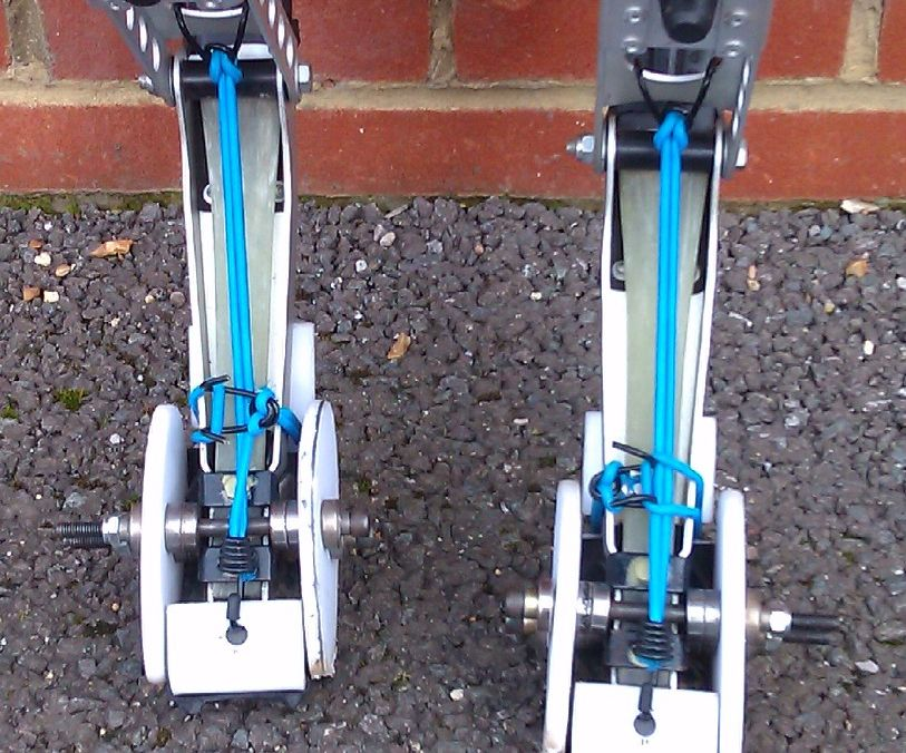 Powerisers, Powerbocking, Jumping Stilts - - Quick On/Quick Off Hooves - - The Re Mod