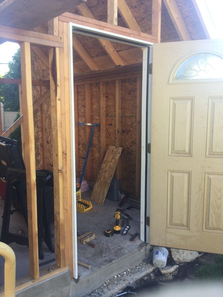 Hanging the Door