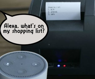 Alexa Printer | Upcycled Receipt Printer