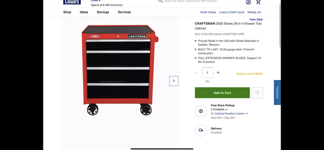 Picking Out the Toolbox