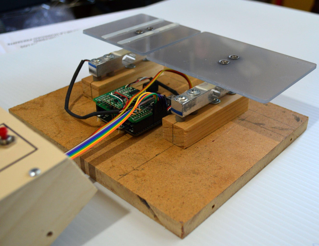 Fabricating the Weighing Platforms