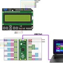 Raspberry Pi Pico -- 16x2 LCD, 4Bit Mode Interface, BCD Counter