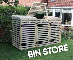 DIY Bin Store