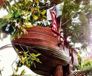 Pirate Ship Tree House