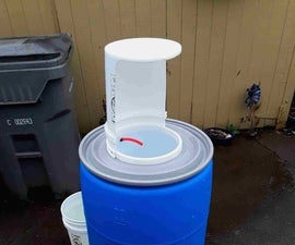 How to Build a Portable Hand Washing Station