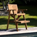Lifeguard Chair from Recycled Lumber