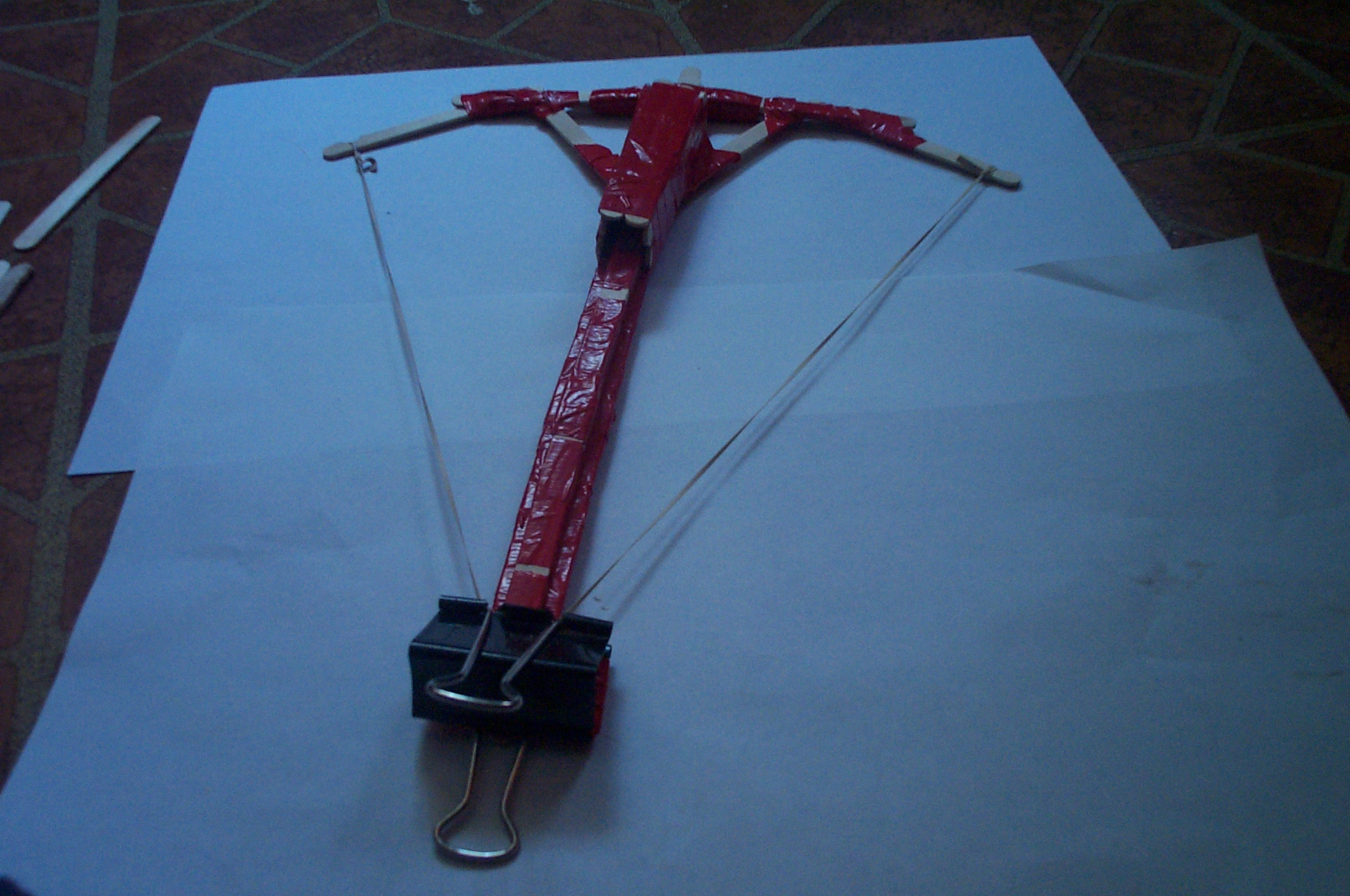 how to make a cool cross bow