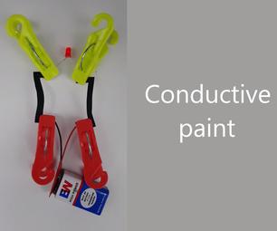 Conductive Paint Using Dead Batteries