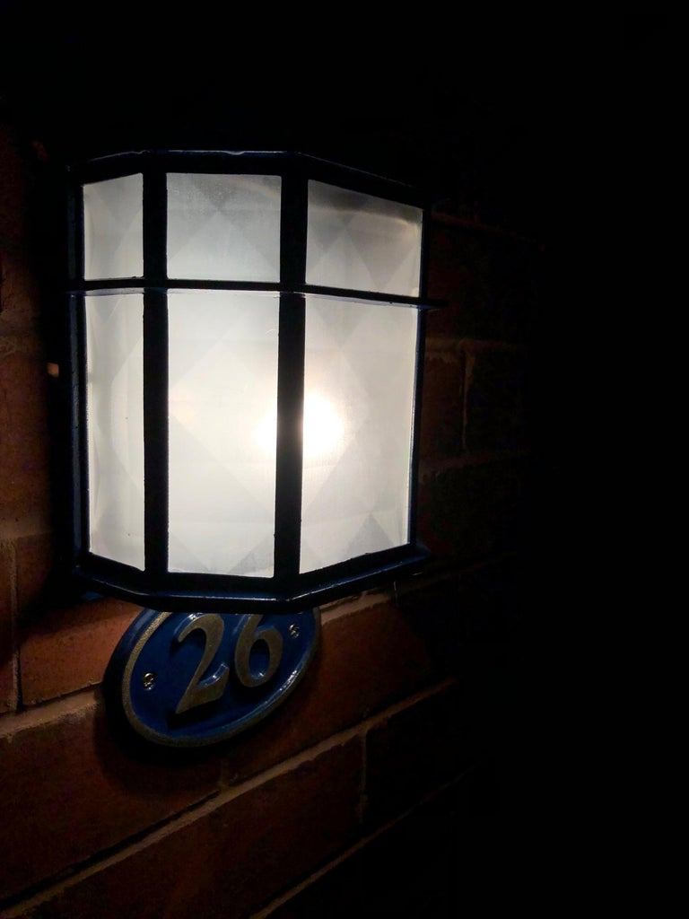 The Completed Porch Light