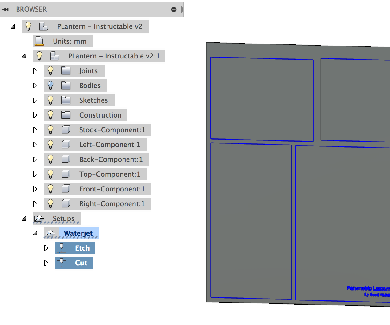 Fusion 360 to OMAX Pathway