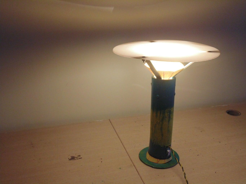 Refractive Bamboo Lamp