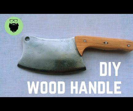 DIY Handle for Cleaver