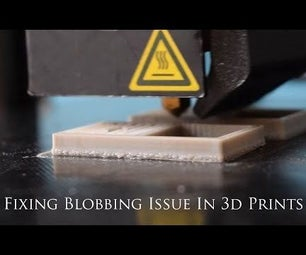 How to Resolve Z-axis Artifact / First Few Layers Blobbing Issue