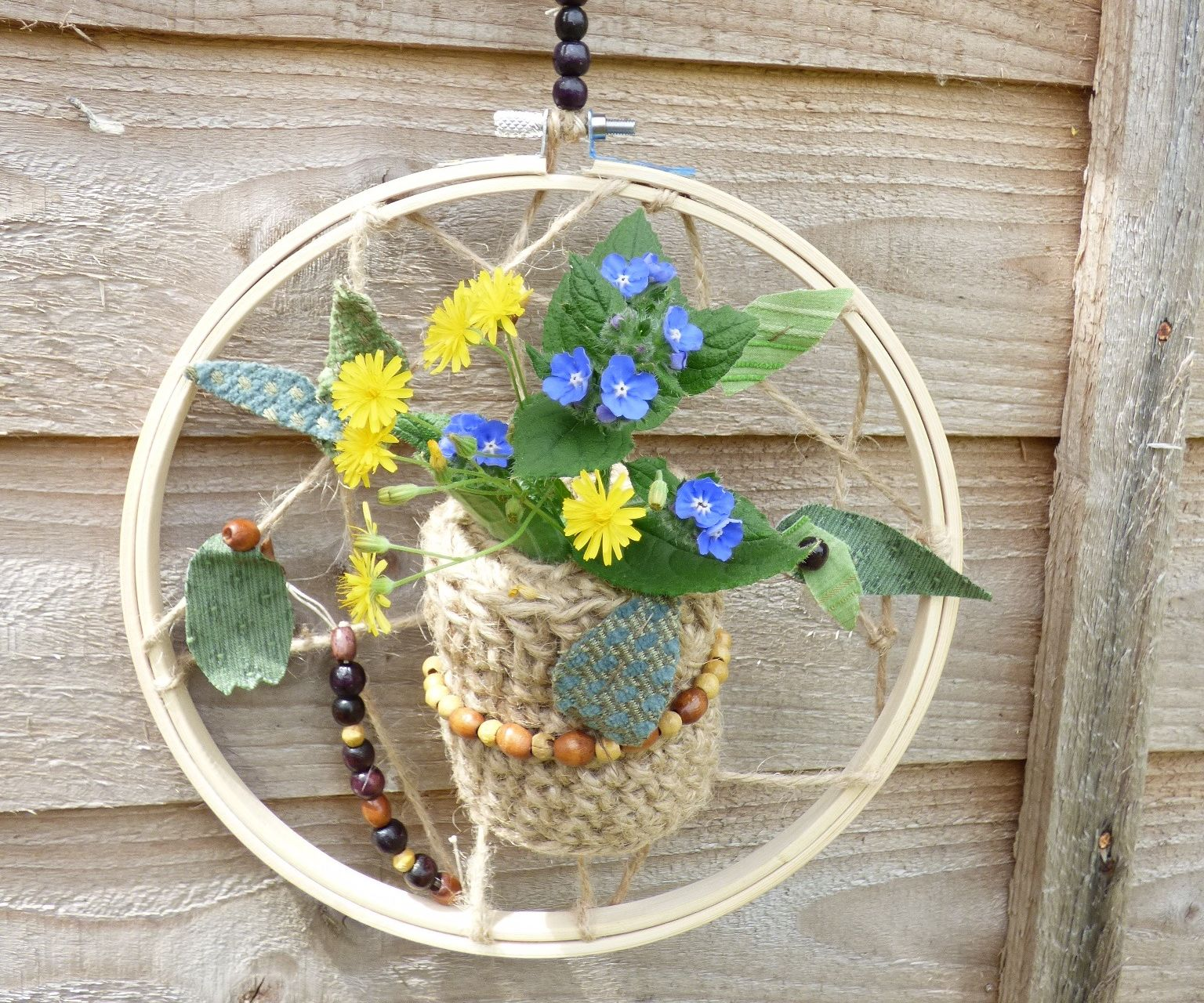Boho Nature Hanging Planter