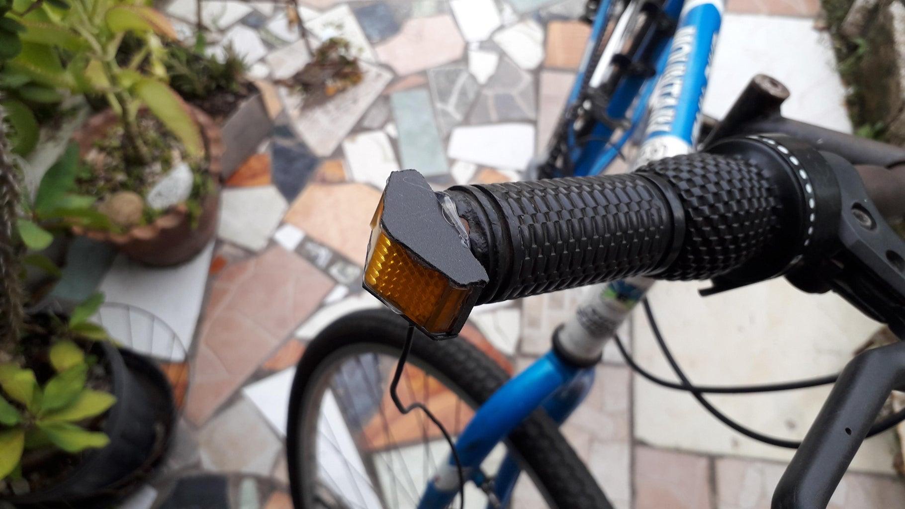 Install Light to Handle Bar