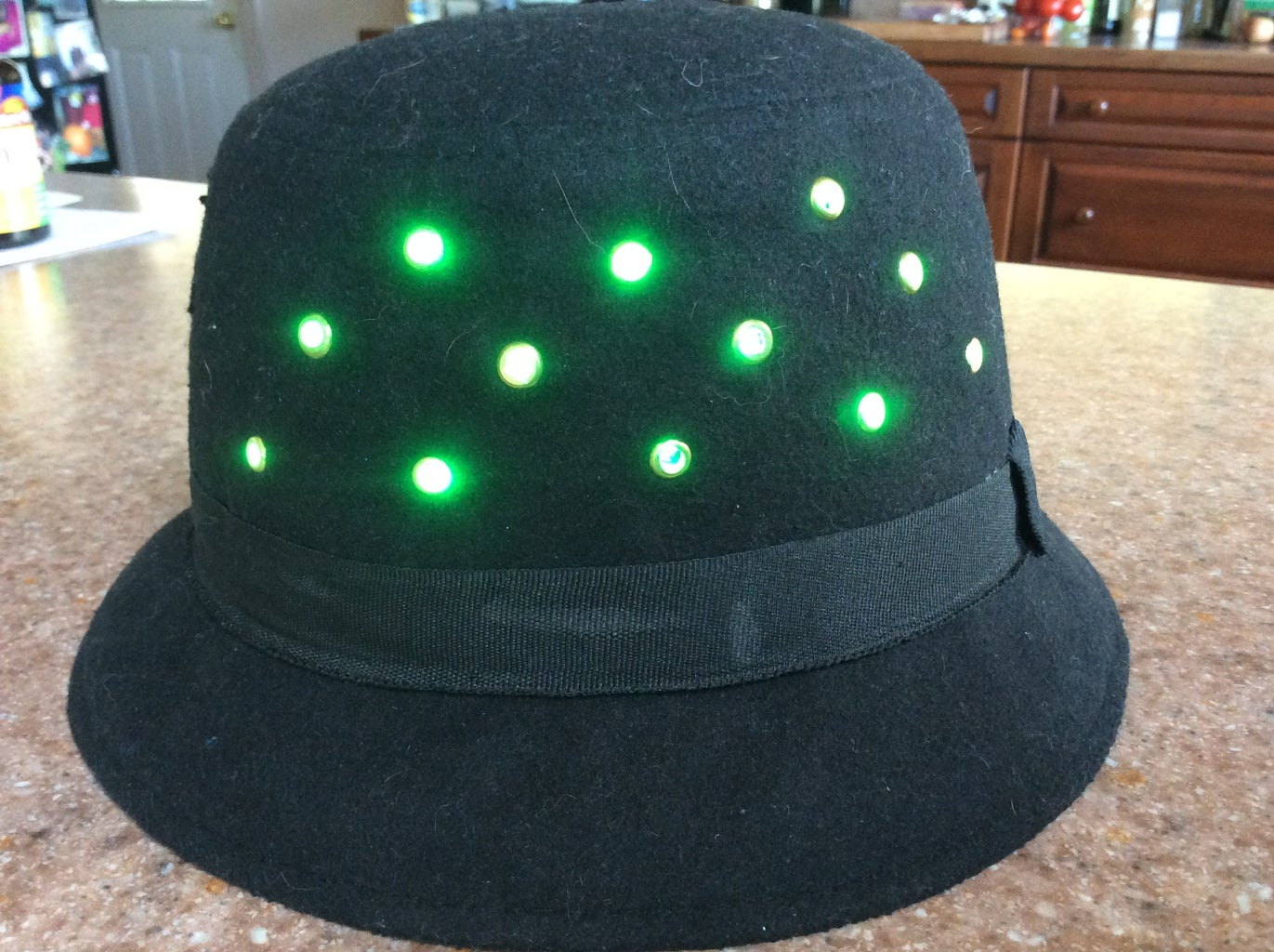 Wear Your New CheerLights Hat With Pride