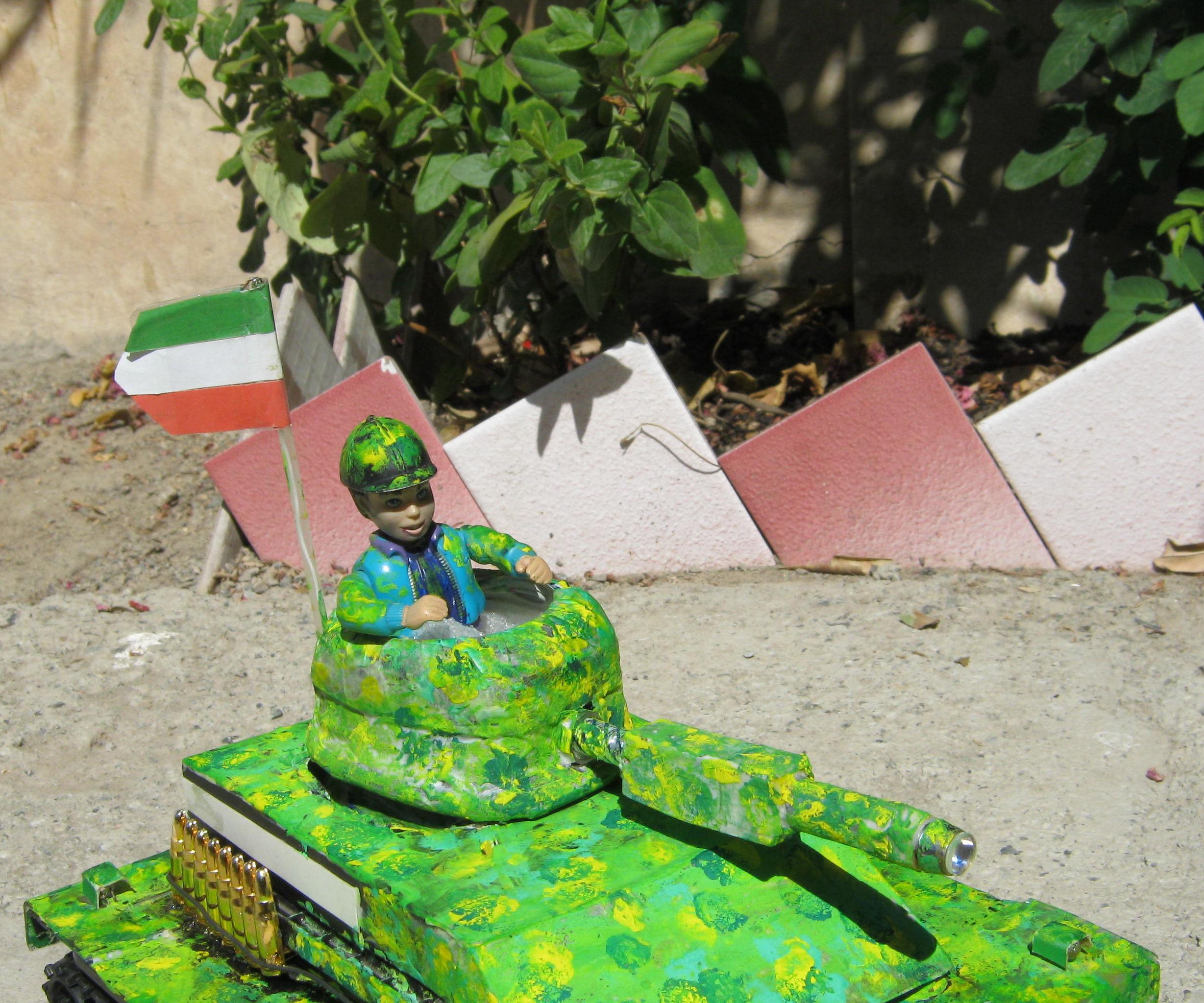 Tank With Laser Guns