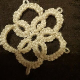 Learn Needle Tatting With My Flower Pendant
